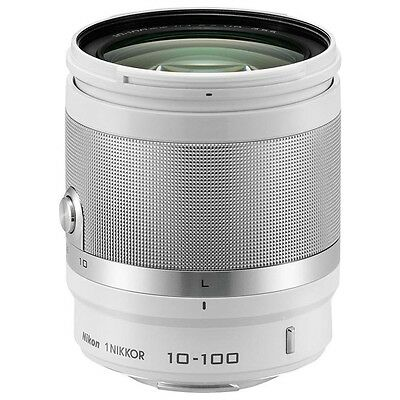 3327 1 NIKKOR 10-100mm f/4.0-5.6 White. Shipping is Free