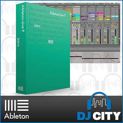 Ableton Live 9 Intro Music Production Software DAW