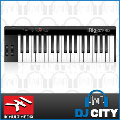 IK Multimedia iRig Keys 37 Pro MIDI Keyboard 37-key iOS & Android Compatible
