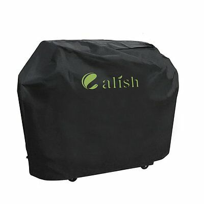 CALISH Barbecue Cover Heavy Duty Waterproof Breathable Oxford fabric Large 145cm