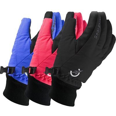 UK Made Sealskinz Childrens Winter Waterproof Outdoor Warm Cycling Gloves Cheap