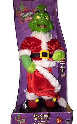 """How the Grinch Stole Christmas Animated Musical Dancing 21"""" Figure"""