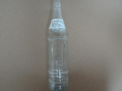 1959 Big Chief Embossed Soda Pop Bottle By Coca Cola-Nice