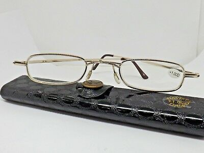 MADE IN ITALY Occhiali per lettura sigaro reading glasses tascabili PRESBIOPIA