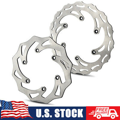 Front & Rear Brake Disc Rotors for KTM 125/250/350/450/530 SX/XC/EXC/XCW/EXC-F