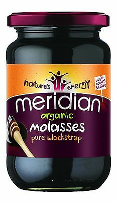 Meridian | Organic Blackstrap Molasses | 6 x 740g