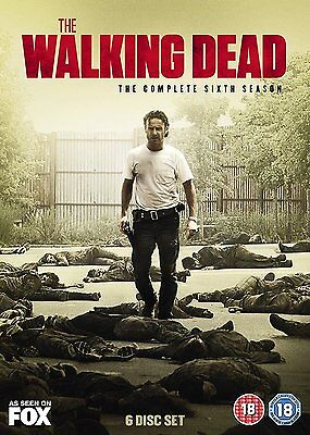 The Walking Dead Season 6 New & Sealed Region 2 DVD Boxset
