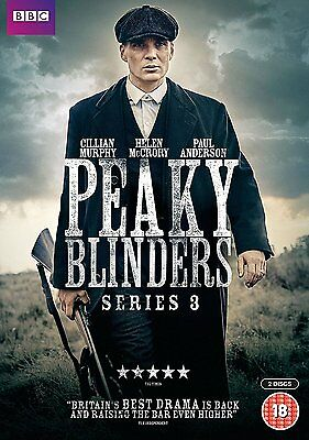 Peaky Blinders Series / Season 3 New & Sealed Region 2 DVD Boxset