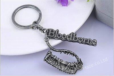 Game Bloodborne Metal Keychain Key Ring Pendant Gift Exquisite