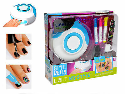 Nageldesign Nagelstudio Nageltrockner Nagellack Style Me Up Set für Kinder