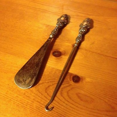 vintage shoe horn & boot hook