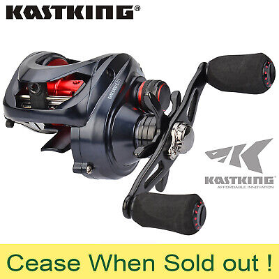 KastKing Spartacus Maximus Metal Low Profile Reel Saltwater Fishing Biatcaster