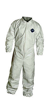 DuPont Disposable Tyvek Coveralls - 125S  Small or Medium - Case of 25