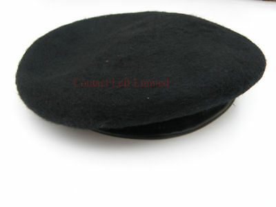NEW Extra Large 61cm -62cm Military Black Beret ( Army