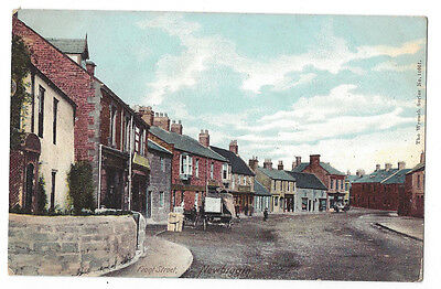 NEWBIGGIN Front Street, Wrench Series Postcard #11661, Unused