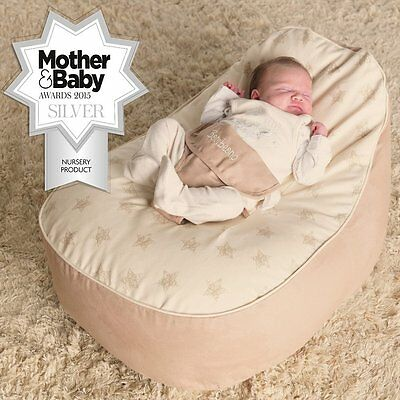 Bambeano Baby Bean Bag Support Chair Natural with FREE Cover 5060161113266