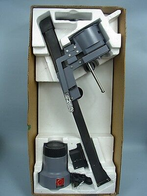 Omega Condenser Enlarger with Lens In Original Box Bottom + Many Accessories