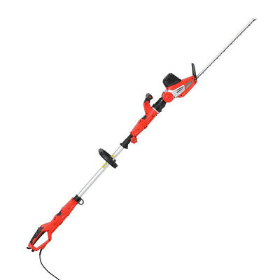 450W Electric Telescopic Pole Hedge Trimmer, No need for a ladder
