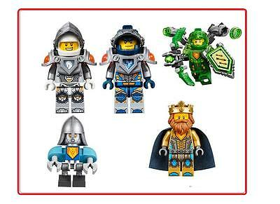 5 Lego Nexo Knights   Vinyl Wall Stickers 3 Sizes A6 A5 A4  A3
