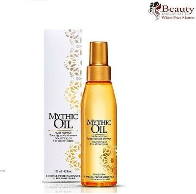L'Oreal Professionnel Paris Mythic Original Nourishing Oil 125ml - NEW & BOXED