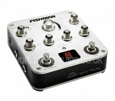 Fishman Aura Spectrum DI + EQ, compressor, feedback Suppression, Tuner & FX Loop