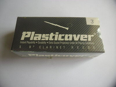 RICO PLASTICOVER 5 Anches-reeds clarinette Force 3- NEW