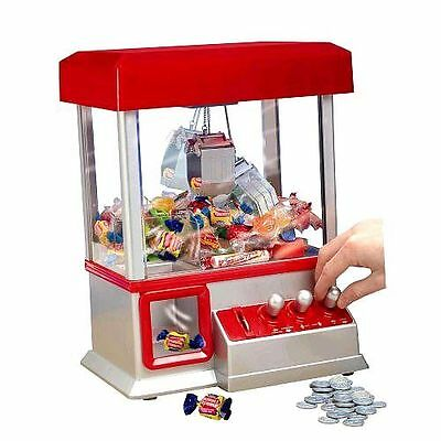 The Claw Crane Electronic Candy Grabber Game Arcade Machine without original box