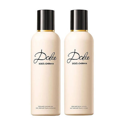 DOLCE by Dolce and Gabbana, 100ml Body lotion + 100ml Shower Gel