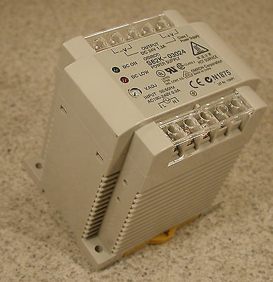 OMRON S82K-03024 DC Power Supply 24V 1.3A Lot of 2                 **