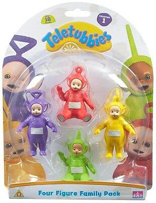 Teletubbies ~ Four Figure Family 4 Pack ~ Collection Pack 1