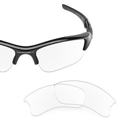 Sure Polarized Crystal Clear Replacement Lenses for Oakley Flak Jacket XLJ