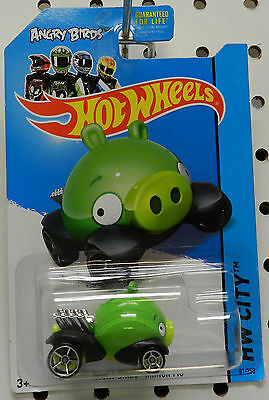 Angry Birds Minion Pig Green   City Hw Hot Wheels