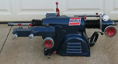 Ammco 4000 Disc & Drum Brake Lathe Loaded w/ Double Chuck Kit #253 3-Jaw Chuck