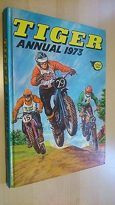 TIGER Annual 1973. VGC. Great Spine. ***UNCLIPPED***