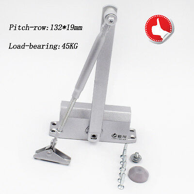 T90 25-45KG Aluminum Door Closer Two Independent Valve Control Sweep Wellmade