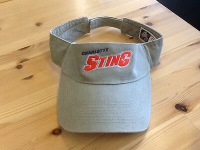 Charlotte Sting Basketball Super Nice Embroidered Logo Hat Visor  EUC!
