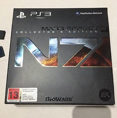 Mass Effect 3 (Sony PlayStation 3, 2012) Collectors Edition