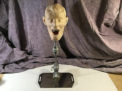 Kilgore / Nissen Adult Dental Manikin w/ Mask, Teeth, Jaws & Chair Mount (B)