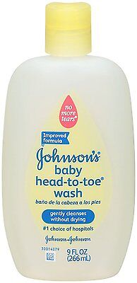 Johnson's Head-to-Toe Baby Wash - Fragrance Free - 9 oz