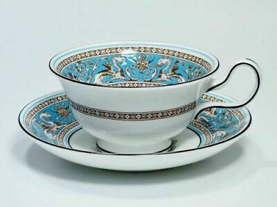 Beautiful Vintage Wedgwood Florentine Cup and Saucer Set
