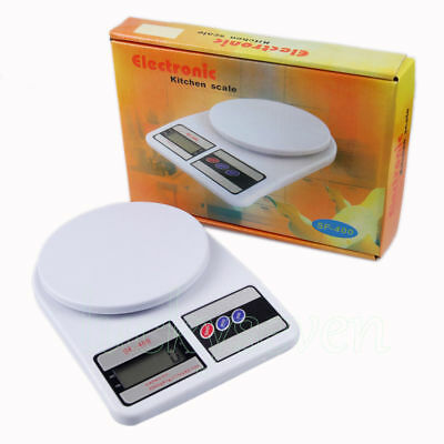 5/10Kg Digital Electronic LCD Household Kitchen Postal Weighing Scale Balance