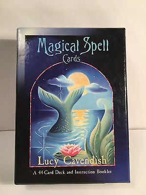 Magical Spell Cards by Lucy Cavendish -  44 Card Deck with Instruction Booklet