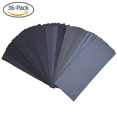 120 to 3000 Assorted Grit Sandpaper for Wood Furniture Finishing, Metal Sanding