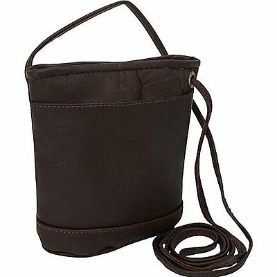 David King & Co. Top Zip Mini Bag 512, Café, One Size