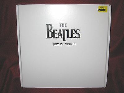 "THE BEATLES 2009 REMASTERS LTD EDITION ""BOX OF VISION"" BRAND NEW RARE No CDS"