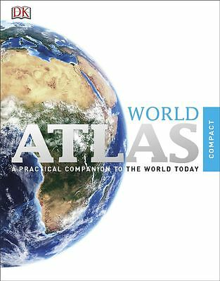 Compact World Atlas by Kindersley Dorling - Paperback - NEW - Book
