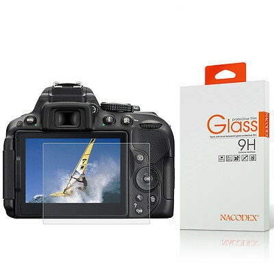 Nacodex HD Tempered Glass Screen Protector For Nikon D5300 D5500 D5600
