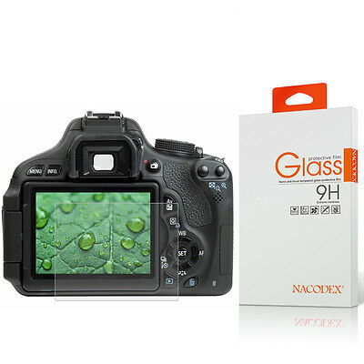 Nacodex HD Tempered Glass Screen Protector For Canon 70D / 700D / 80D
