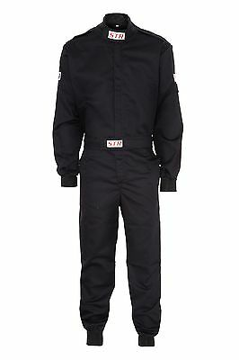STR Race Overalls / Suit Racing SFI Approved 3-2A/1 Standard BLACK XXL SALE