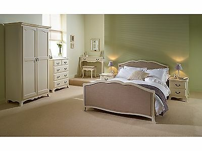 Brand New! Chantilly Antique White French Style Bedroom Collection